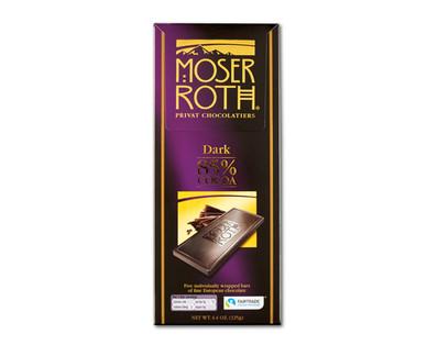 Moser Roth Premium Dark Chocolate, 85 Percent Cocoa