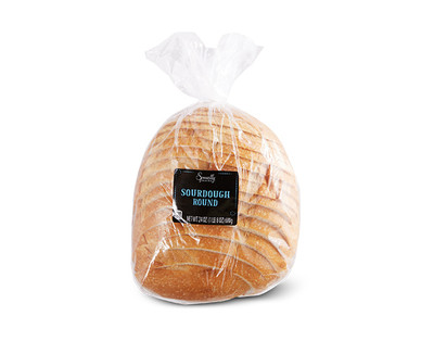 Specially Selected Sliced Sourdough Round