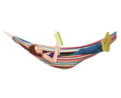 Gardenline Hammock with Carry Bag View 1