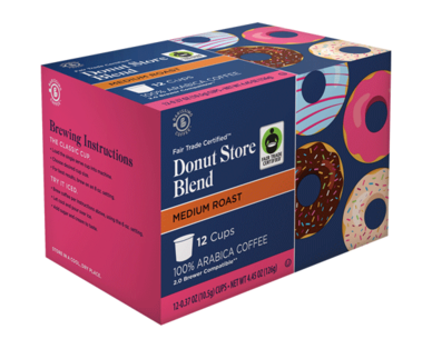 Barissimo Decaf Donut Store Coffee Cups