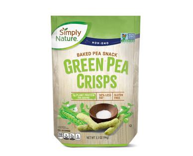 Simply Nature Green Pea Crisps