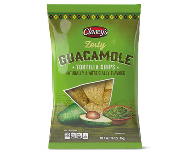 Clancy's Zesty Guacamole Tortilla Chips