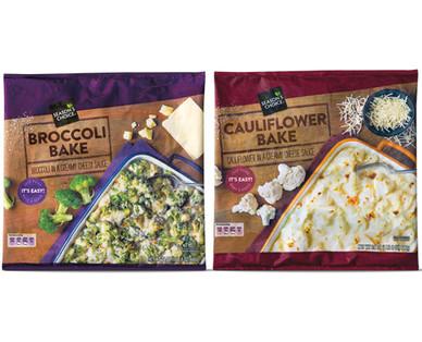 Season's Choice Broccoli or Cauliflower and Cheese Bake