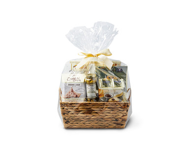 Assorted Savory and Sweet Gift Basket View 1