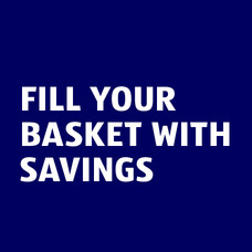Fill your basket with savings