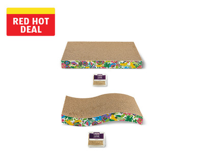 Heart to Tail Cat Scratcher with Catnip  View 4