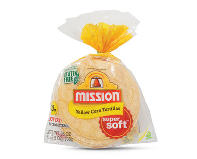 "Mission 6"" Yellow Corn Tortillas"