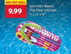 Red hot deal: Summer Waves Flip Flip Lounge. $9.99. View details.