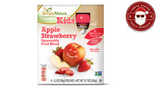 Simply Nature Apple Strawberry Fruit Squeezies. View Details.