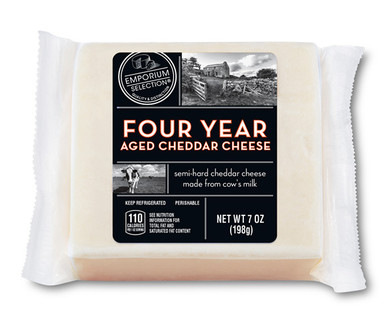 Emporium Selection Four Year Aged Cheddar Cheese