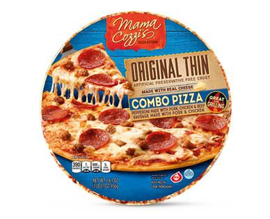 Mama Cozzi's Pizza Kitchen Original Thin Crust Combo Pizza