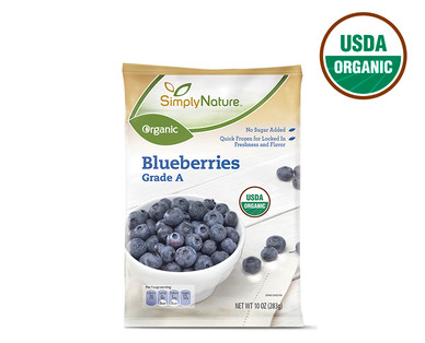 SimplyNature Organic Blueberries