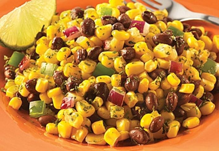 Fire Roasted Corn Black Bean Salad