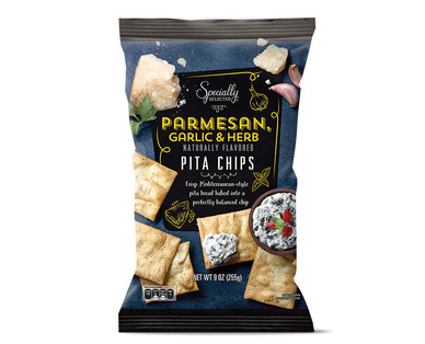 Specially Selected Parmesan, Garlic & Herb Pita Chips