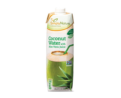 SimplyNature Coconut Water with Aloe Vera Juice