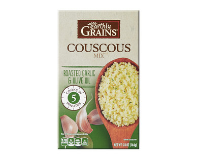 Earthly Grains Roasted Garlic & Olive Oil Couscous