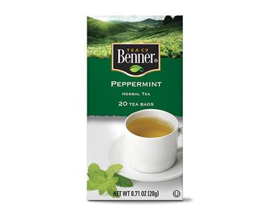 Benner Peppermint Tea Bags