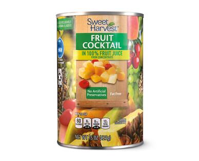 Sweet Harvest Fruit Cocktail in 100% Fruit Juice