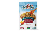 liveGFree Gluten Free Cranberry Cashew Honey Granola