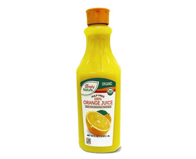 Simply Nature Not From Concentrate Organic Orange Juice