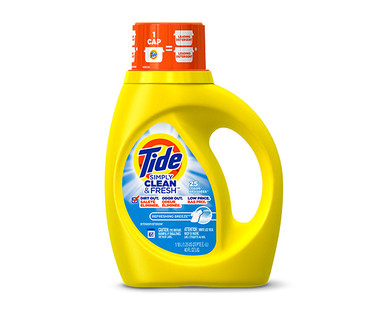 Tide Simply Clean & Fresh Refreshing Breeze Laundry Detergent