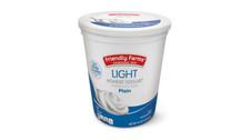 Friendly Farms Light Plain Nonfat Yogurt