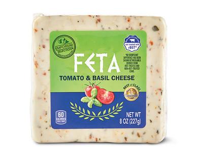 Emporium Selection Feta Block Tomato & Basil
