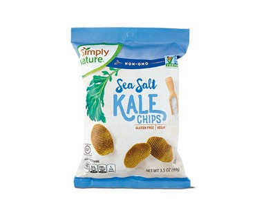 Simply Nature Kale Chips Assorted Flavors View 1