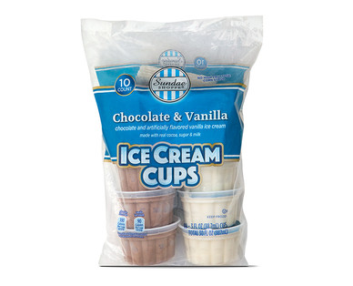 Sundae Shoppe Ice Cream Cups
