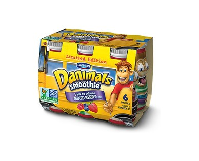 Dannon Danimals Back to School Smoothies View 1