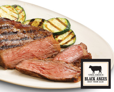 Black Angus Strip Steak