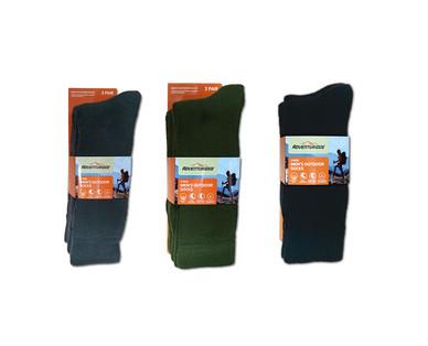 Adventuridge Ladies' or Men's 3 Pair Outdoor Socks View 4