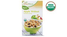 Simply Nature Organic Apple Walnut Granola Cereal. View Details.