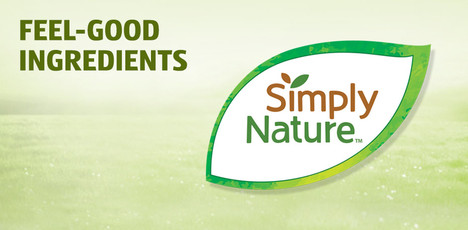 Feel-good ingredients. Click to learn more about Simply Nature.
