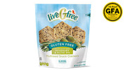 liveGfree Gluten Free Rosemary & Olive Oil Multiseed Crackers