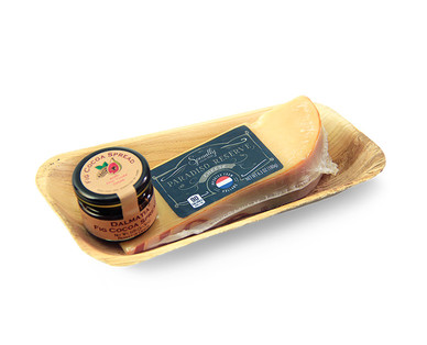 Specially Selected Paradiso Reserve or Manchego Cheese & Dalmatia Fig Spread View 1