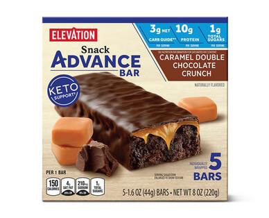 Elevation Caramel Double Chocolate Crunch Advance Bars
