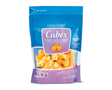 Happy Farms Colby Jack Cheese Cubes
