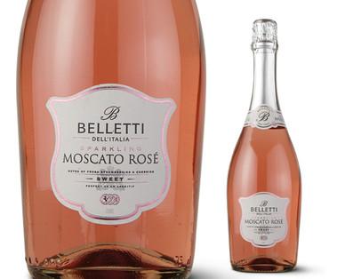 Belletti Sparkling Moscato Rosé