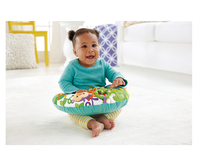 Fisher-Price Musical Elephant, Plush Hippo or Tummy Wedge View 1