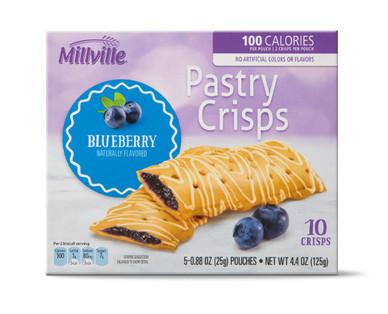Millville Pastry Crisps - Blueberry