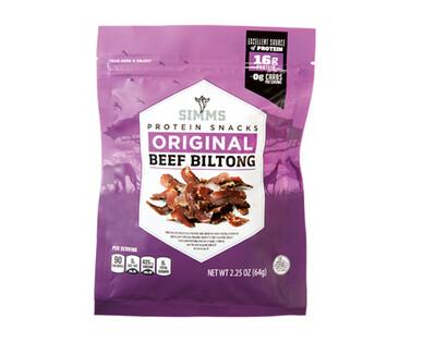 Simms Beef Biltong Original