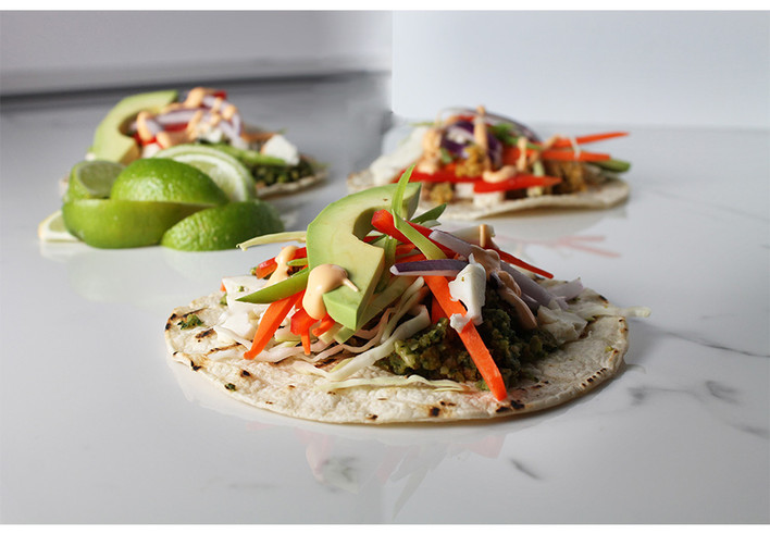 Veggie Patty Tacos