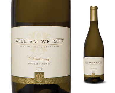 William Wright Chardonnay, 2016 Vintage