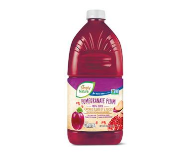 Simply Nature Pomegranate Plum 100% Juice
