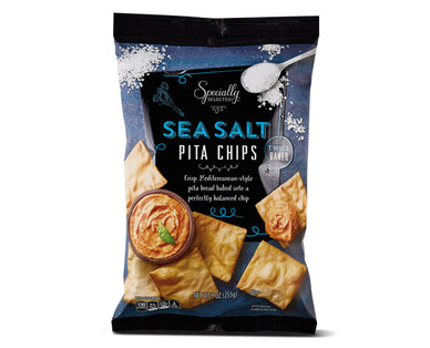 Specially Selected Sea Salt Pita Chips