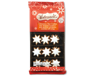 Winternacht Cinnamon Star Cookies