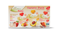 SimplyNature Fruit Squeezies Variety Pack