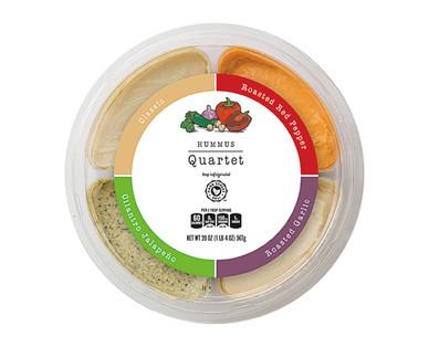 Park Street Deli Hummus Quartet