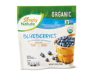 Simply Nature Frozen Blueberries